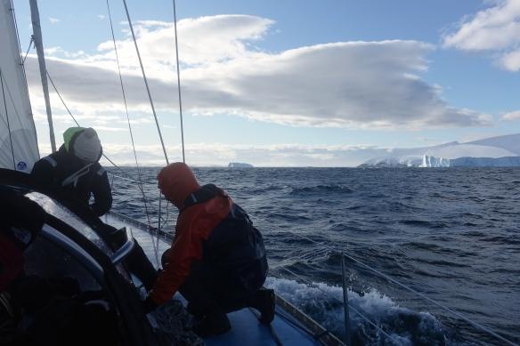Venus - Manoeuvre à l'approche de l'Antarctique
